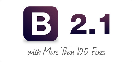Bootstrap 2.1.0